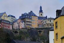 LUXEMBURG / Luxembourg city and it's beautiful surroundings.
