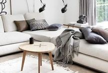 SCANDINAVIAN LIVING / Scandinavian living. Basic, design, natural elements for your interior.
