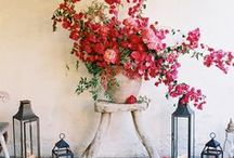 Floral Color by Sorbet Living / Floral colors for interiors