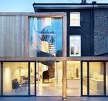 London house extensions / The latest London house extensions including a zinc-clad garden wing and an extension with a huge pivoting door.
