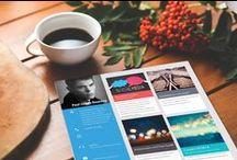 Graphic design resume / Psd templates of graphic design resumes.