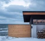 Holiday homes / The best architect-designed holiday homes from around the world, including beach huts, summer houses, hilltop villas and ski chalets.
