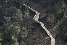 Spectacular walkways