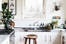 Dream Kitchen / We wish we could cook in these spaces!