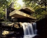 Frank Lloyd Wright / To mark the 150th birthday of iconic architect Frank Lloyd Wright, we have created a new Pinterest board dedicated to his work and legacy, from the famous Fallingwater holiday home to a Lego model of his Guggenheim museum.