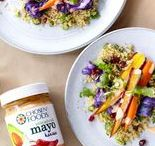 Harissa Mayo Recipes / Harissa adds a spicy kick to our traditional Avocado Oil Mayo. Add it to your sandwiches, tacos, dressings and sauces to turn up the heat and fiery flavor. Harissa Avocado Oil Mayo is Paleo friendly, so you can dip it, spread it, and LOVE it - without any guilt!