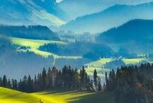 SWITZERLAND / The great nature, cities and villages of Switzerland. Where to go, what to see and what to do.