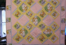 Baby quilt --- Pooh bear / Quilt for the 2nd generation....My rule was one baby quilt per family. lol / by Lisa Shingleton