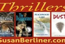 """My Novels & Short Stories / I'm the author of four supernatural thrillers: """"DUST,"""" """"Peachwood Lake,"""" """"The Disappearance,"""" and the new novel, """"Corsonia."""""""