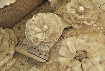 fleurs tissus et papiers