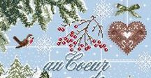 výšivky vianočné
