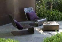 Inne/Ute / Hage, blomster, landskap, utemøbler, garden, outdoor