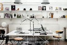 Work space / We all have our dreams of the perfect office.