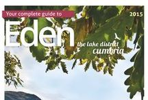 Eden Tourism Publications / Eden Tourism produce a wide range of publications to promote the area. As well as the annual Eden Holiday guide, we have town guides and cycling leaflets.
