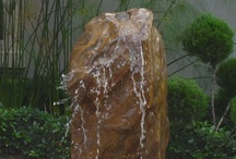Boulder Fountains by Waterfalls Fountains & Gardens Inc.