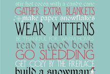 Things I Love About Winter! / by Emily Kendrick