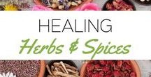 Healing  Herbs & Spices / Herbs that have powerful health benefits!