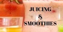 Juicing & Smoothies / Juices and smoothies are a great way to get a lot of fruits and vegetables in your diet at one time. Check out some of our favorite recipes!