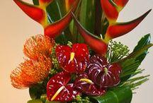 Икебана. / композиции из  цветов