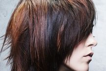 cool emo hair / by scarlett biersack