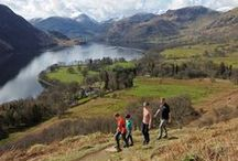Ullswater Way / The Ullswater Way is a new 20-mile walking route around Ullswater. The route can be walked in either direction and from any starting point. Why not walk the route in shorter sections, using an open top bus or an Ullswater 'Steamer' to start your journey!