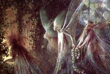Єɳςhanʈeɗ Ƒαเґเεs~ / Fairies are invisible and inaudible like angels. But their magic sparkles in nature. ~Lynn Holland