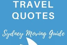 TRAVEL QUOTES | Sydney Moving Guide / travel quote, wanderlust, travel destinations, inspirational quote, adventure time, bucket list, beautiful places, destinations, travel tips, gypsy soul, wanderlust travel, adventure, explore, solo travel, motivational quote, quotes about strength, quotes to live by, famous quotes