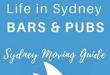 SYDNEY BARS | Sydney Moving Guide / Sydney Bars, Sydney Pubs, Rooftop Bars in Sydney, Sydney Drinks, Sydney Cocktails, Australia, Travel, Australia Trip