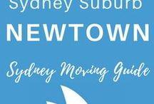 NEWTOWN | Sydney Suburb | Sydney Moving Guide / Sydney Suburb, Newtown, Inner West, Moving to Sydney, Newtown Cafes, Newtown Pubs, Newtown Restaurants, Newtown Street Art