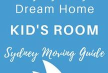 KID'S ROOM | My Sydney Dream House / Kids Bedroom, bunk beds, modern kids room, toddler room to grow into, transitional nursery, bunk beds, modern playroom, bedroom ideas for girls, bedroom ideas for boys, story book decorations, toy storage solutions