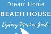 BEACH HOUSE | My Sydney Dream House / Modern beach house designs, contemporary beach house designs, vintage beach house decorations, rustic beach house furnitures, contemporary beach house architecture, coastal mood beach house, blue decor accents, DIY renovation beach house, bohemian beach bum style