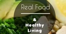 Real Food and Healthy Living / This is a collaborative board that will allow bloggers and experts to share tips and clean recipes for living a healthier lifestyle! Please keep posts directly related to clean eating and real food.