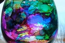 ALCOHOL INKS / by Joanne Chiles