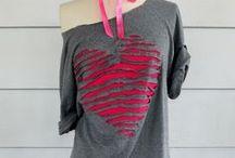 ✄ Refashion / Recycler : des T-shirt, des chemises d'homme, etc ... / by Khirya Littoria