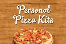 Personal Pizza Kits / Family Finest Make-N-Bake Pizza Paks are perfect for: after school snacks, Friday night family parties, college dorms, sleepovers, pool parties and appetizers.