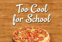 Too Cool for School! / August is time to get your kids ready for school. We've compiled great tips, tricks and meals to get your kids excited for the upcoming school year!