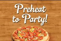 Preheat to Party! / Check out our Make-N-Bake Pizza Paks in action and share your delicious creations with us on Pinterest, Facebook, Twitter @FamilyFinest and on Instagram @FamilyFinestFoods!