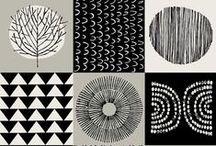 Patterns + art ! / Siistejä kuoseja. Awesome patterns.