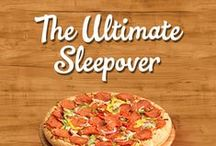 The Ultimate Sleepover / A collection of cooking, sleepover, and fun tips to make your Family Finest Pizza Pak and Cookie Kit party experience FAM-Tastic!