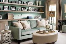 Salas, Varandas e Halls / Um toque de decorador  nos principais ambientes  comuns.