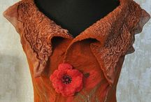 F e l t   garments and inspiration