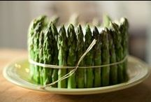 Asperges / Mooie recepten met asperges
