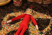 Elf on the Shelf! / Christmas Elf that comes once a year to cause mayhem!
