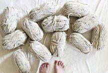 Tejer | Lana, algodón e hilo