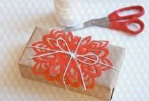 Gift wrapping ! / Gift wrapping ideas