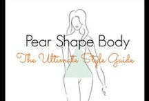 ✄ Pear shape bodies