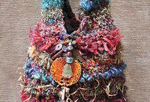 S p i n n i n g   art yarn uses