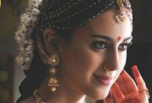 Brides of south / Beautiful bridal saree