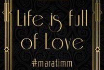 Life is full of LOVE - #maratimm / Die besten Wünsche zur Vermählung sowie alles Glück dieser Welt für Euren gemeinsamen Lebensweg wünschen Euch, liebe Mara und lieber Timm, eine kunterbunte Truppe zuckersüße BloggerInnen.