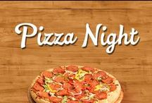 Pizza Night / What's better than pizza night? One with Family Finest! Grab the family or a few friends and gather around the table for our great pizza options.